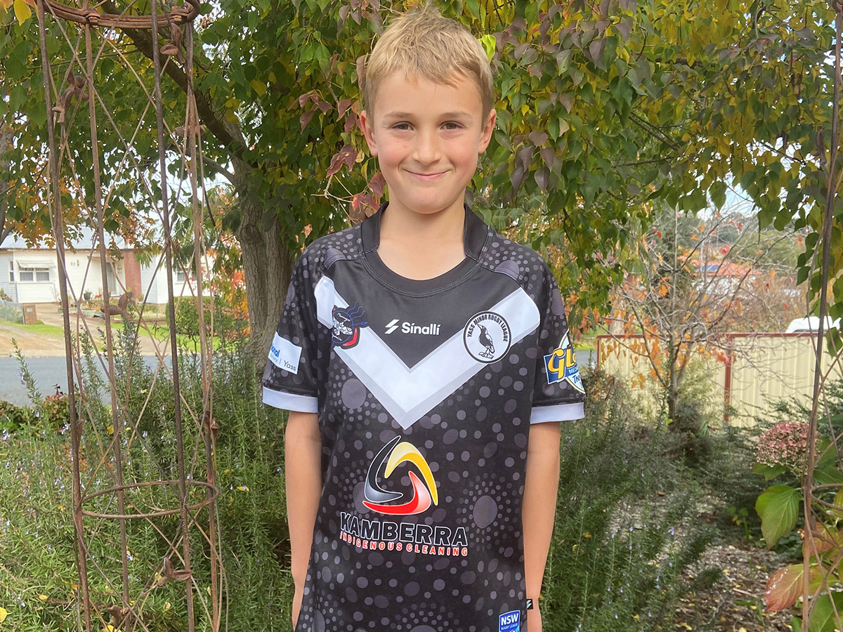 Kamberra Sponsor Yass Magpies with new Indigenous Jersey